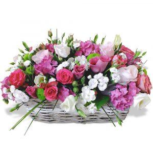 cesto di fiori