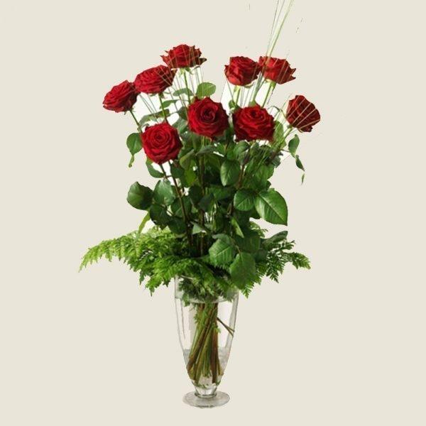 Mazzo nove rose