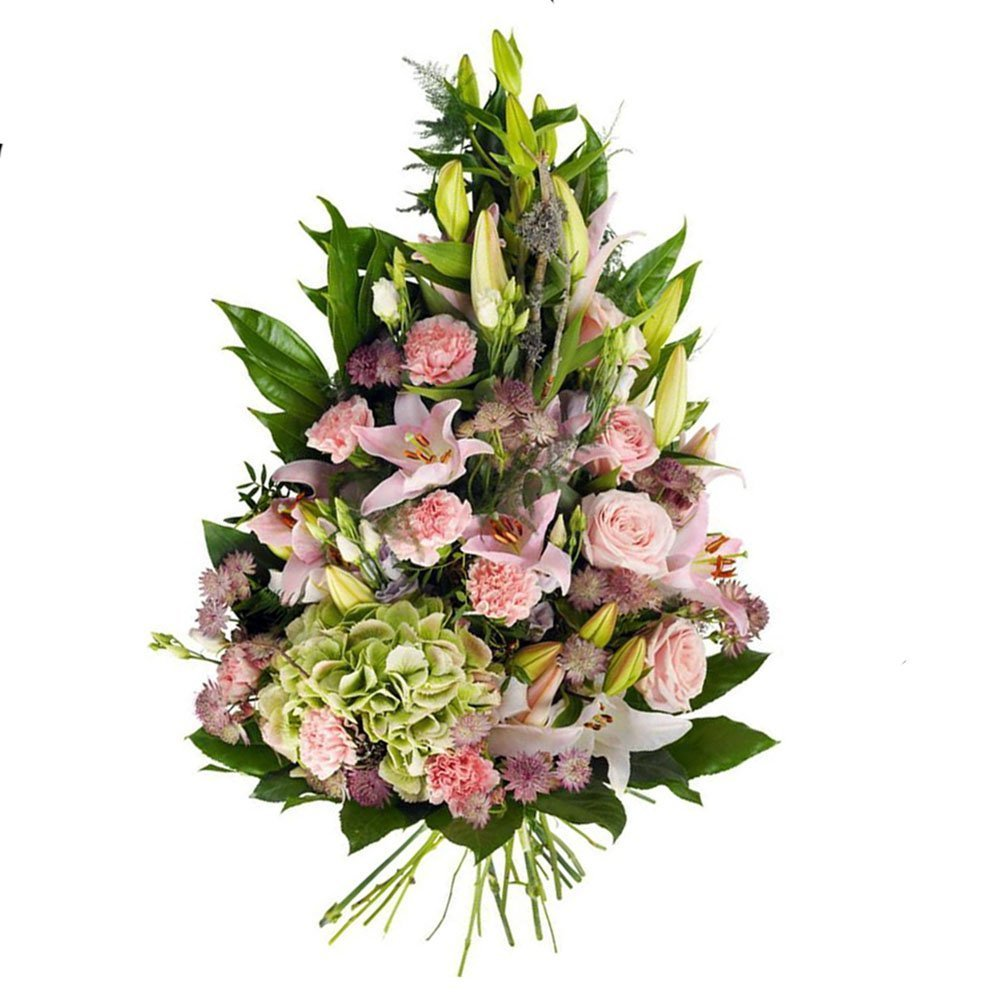 Mazzo Di Fiori Sinfonia Lilium E Rose