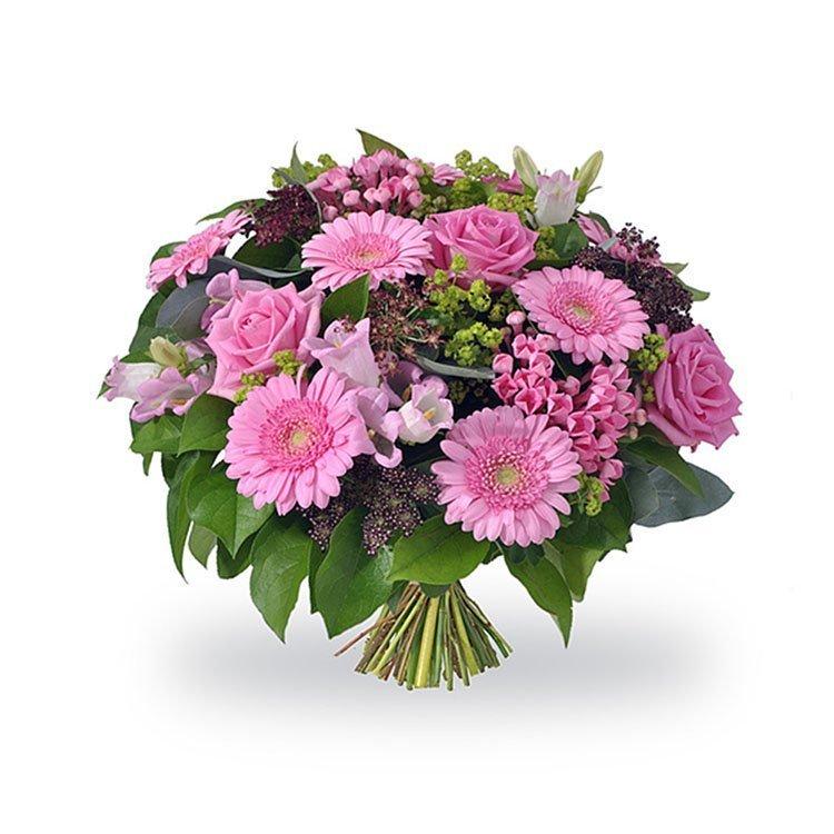Mazzo Di Fiori Immagini.Amore Materno Bouquet Di Fiori Rosa Fiorista Spagnoli